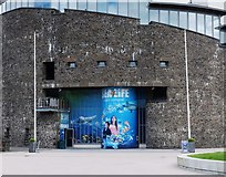 NS3882 : Entrance Sea Life Centre by Steve Houldsworth