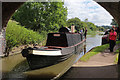 SP5465 : Steam narrow boat Hasty at Braunston by Chris Allen