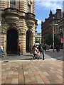 NS5965 : Paving, corner of Gordon Street and Buchanan Street, Glasgow by Robin Stott