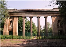 SD8303 : The Colonnade Heaton Park by Steve Houldsworth