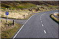 HU3375 : Layby on the Southbound A970 near Smirnadale Water by David Dixon