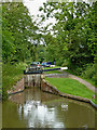 SP1870 :  Lock No 23 south of Kingswood Junction, Warwickshire by Roger  Kidd