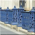 NS5965 : Cast iron railings at the Gallery of Modern Art by Alan Murray-Rust