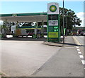 ST3091 : July 2nd 2019 fuel prices at the BP filling station, Malpas, Newport by Jaggery