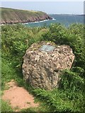 SM8003 : Commemorative stone by Alan Hughes