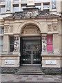 ST1876 : Portico - Old Library - Trinity Street by Betty Longbottom