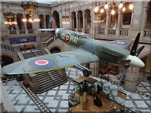 NS5666 : Spitfire in Kelvingrove Museum by Philip Halling