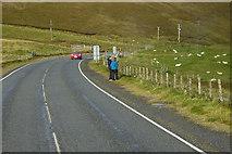 HU3467 : A970 towards Mavis Grind by David Dixon