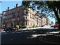 NS5667 : Great George Street, Hillhead, looking east by Christine Johnstone