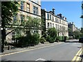 NS5767 : The north side of Glasgow Street, Hillhead by Christine Johnstone