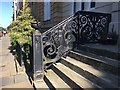 NS5766 : Cast-iron balustrade, Woodlands Terrace, Glasgow by Robin Stott