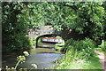 SO3107 : Narrow boat above Bridge 76 by M J Roscoe