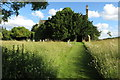 SP6456 : St James' churchyard and wildflower meadow by Philip Jeffrey