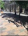NS5865 : Multi-coloured granite paviors, Gordon Street, Glasgow by Robin Stott