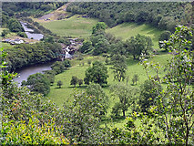 SN7079 : Pasture beside the river by John Lucas