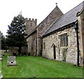 ST2682 : South side of St Mary's church, Marshfield by Jaggery