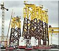 "J3575 : The ""Boabarge 35"", Harland & Wolff, Belfast (July 2019) by Albert Bridge"