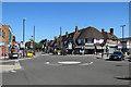 SK5837 : West Bridgford: Tudor Square and Central Avenue by John Sutton