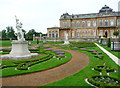 TL0935 : Statue of the Rape of the Sabine in the French Garden, Wrest Park by Humphrey Bolton