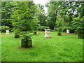 TL0935 : Graeco-Roman altars, Wrest Park by Humphrey Bolton
