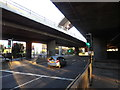 NS5865 : M8 junction 19, Anderston, Glasgow by Rudi Winter