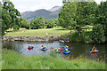NY2523 : Water sports on the River Derwent by Bill Boaden