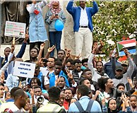 SJ8498 : Stop the Torture in Sudan by Gerald England