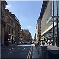 NS5865 : West on St Vincent Street, Glasgow by Robin Stott