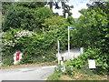 NX4856 : Kirkmabreck road end by M J Richardson