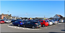NS3230 : Car Park at South Beach, Troon, South Ayrshire by Mark S
