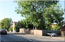 SP8874 : Wellingborough Road, Isham by David Howard