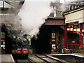 SE0641 : Victorian Steam Locomotive at Keighley by David Dixon