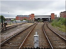 TA2609 : Grimsby Town railway station, Lincolnshire by Nigel Thompson