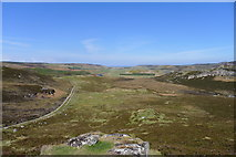 NC8865 : The sea from Meall Mor a' Bealaich; the northern end of Strath Halladale by Tim Heaton