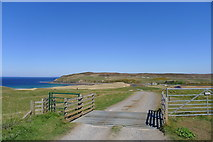 NC8864 : Track down to the car park at Melvich Bay by Tim Heaton