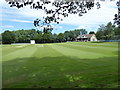 SP4603 : Cricket pitch, Cumnor by Vieve Forward