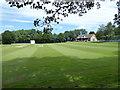 SP4603 : Cricket pitch, Cumnor by Vieve Forward