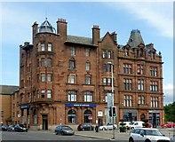NS5565 : Bank of Scotland, Govan by Alan Murray-Rust