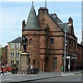 NS5565 : Cardell Halls, Govan, including Brechin's bar by Alan Murray-Rust