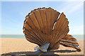 TM4657 : Aldeburgh Scallop by Richard Croft