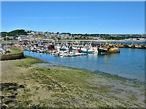 SW4628 : Newlyn Harbour by G Laird