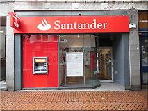 SP0686 : Santander Bank Branch in New Street, Birmingham by David Hillas
