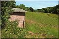 SX8557 : Farmland near Pords Bridge by Derek Harper