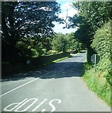 J0812 : The Lower Ravensdale Road from its junction with the R174 by Eric Jones