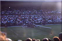 TQ2472 : Wimbledon 1988 - Centre Court by Barry Shimmon