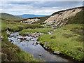 NN5783 : River Mashie erosion by wrobison