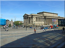 SJ3590 : St George's Hall by Carroll Pierce