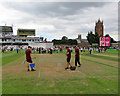 ST2224 : Taunton: spinners' wicket by John Sutton