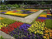 TQ3473 : The Sunken Garden in Horniman Gardens by Marathon