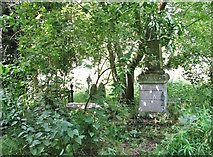 TG2408 : The grave of Rev John Alexander by Evelyn Simak